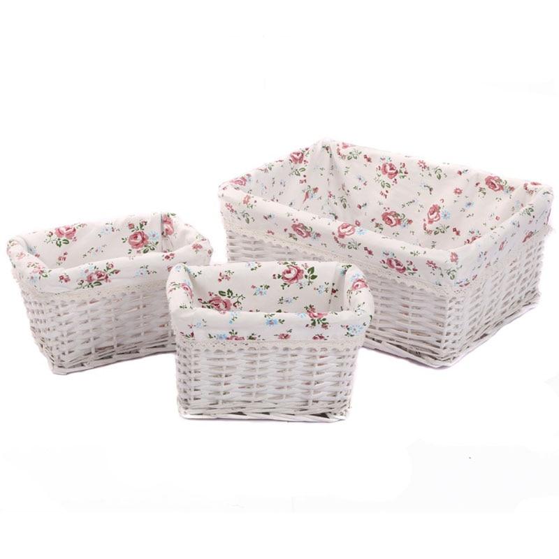 Buy Melbury Rectangular Wicker Storage Basket From The: Small Large Woven Wicker Storage Baskets & Bins Zakka