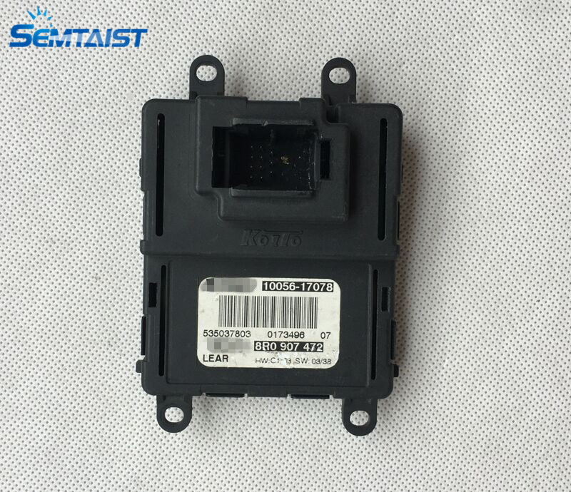 semtaist Q5 LED Headlight Control Unit LED Headlights DRL 8R0 907 472 8R0907472 10056 17078 used