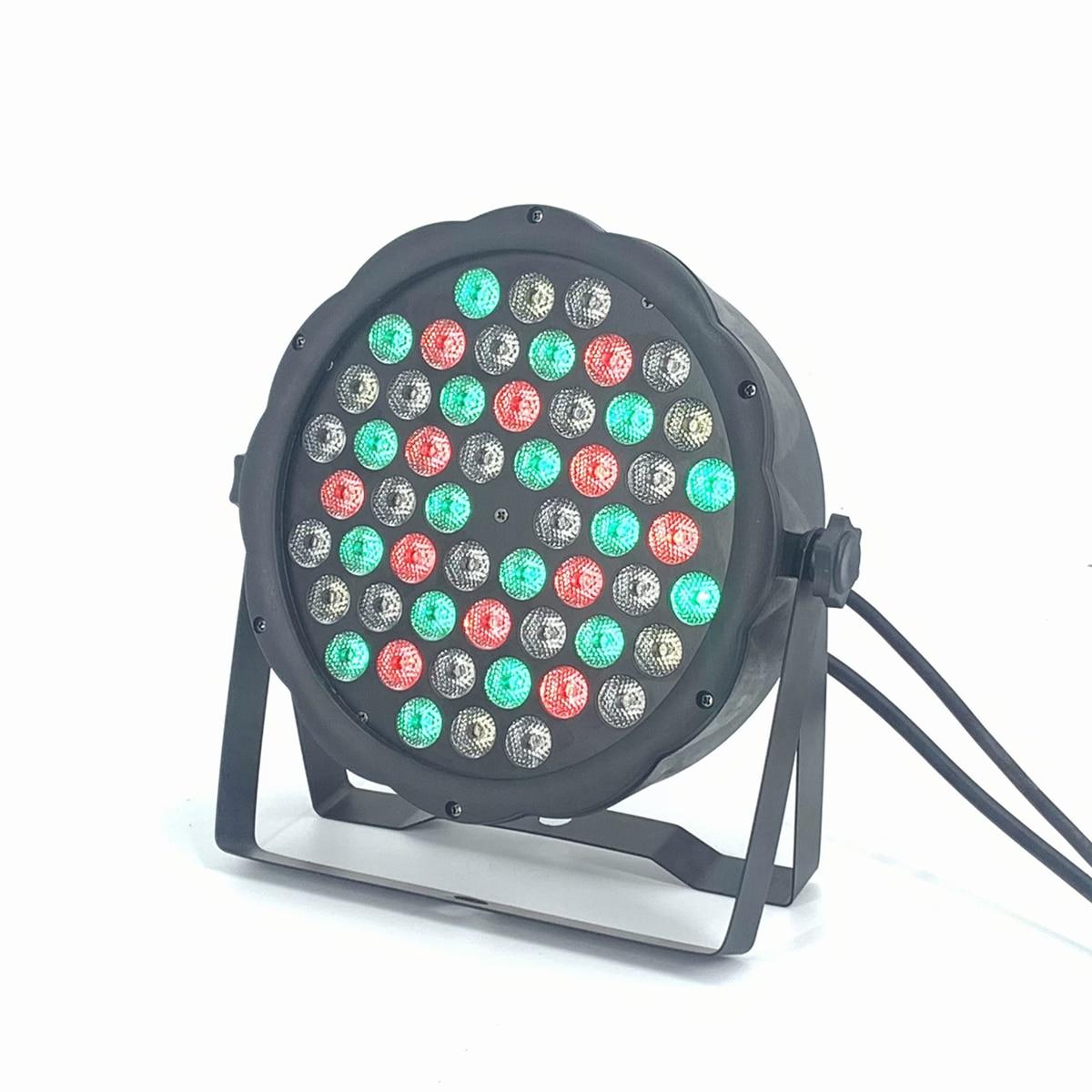54x3W Led Par DJ Par LED RGBW White  Warm White UV Wash Disco Light DMX Controller Free Shipping RGBW