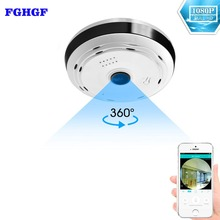 hot deal buy fghgf 360 degree panoramic wifi camera hd 1080p security camera baby monitor home camera pet monitor two way audio video camera