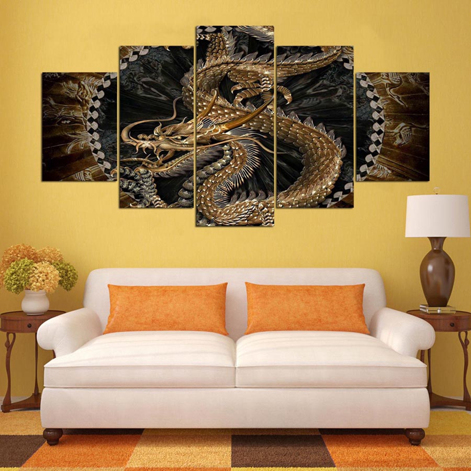 Buy large dragon wall art and get free shipping on AliExpress.com