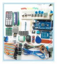 Envío libre mega 2560 r3 starter kit motor servo relé de Alcance Ultrasónica LCD para arduino RFID