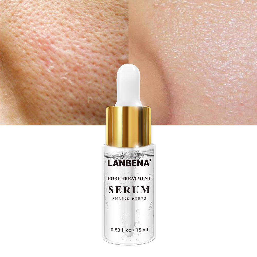 LANBENA Pore Treatment Essence Nose Blackhead Remover Acne Treatment Shrink Pores Skin Firming Face Serum Moisturizing Skin Care in Serum from Beauty Health