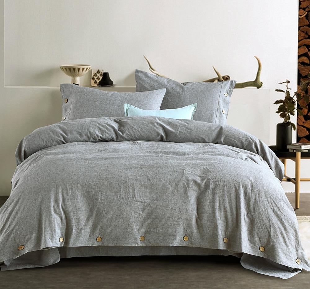 G.Craftsman Simple Pure Color 4Pcs Juego de sábanas de manga 15% - Textiles para el hogar