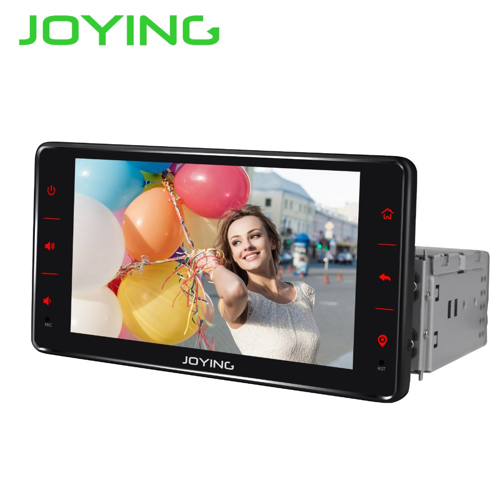 6.2Joying Single Din Core Quad Universal Car Audio Stereo Radio Android 6.0 Multimedia Player GPS Navigation Head Unit TDA7851