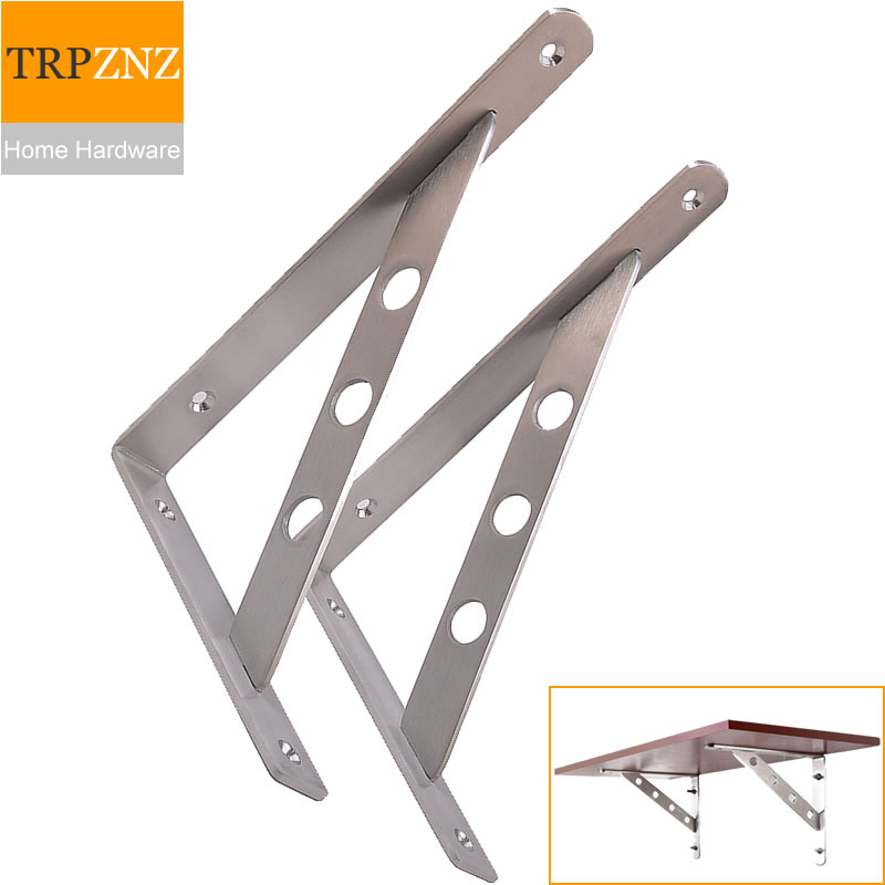Stainless Steel Triangle Bracket,Shelf Support,Partition Holder,high Load,easy To Install,Microwave Oven Rack,furniture Hardware