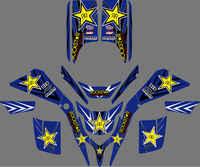 0043 neue Stil ABZIEHBILDER AUFKLEBER GRAFIKEN Für Yamaha BLASTER YFS200 1988-2006 1990 1992 1994 1996 1998 2000 YFS 200 Blaster200