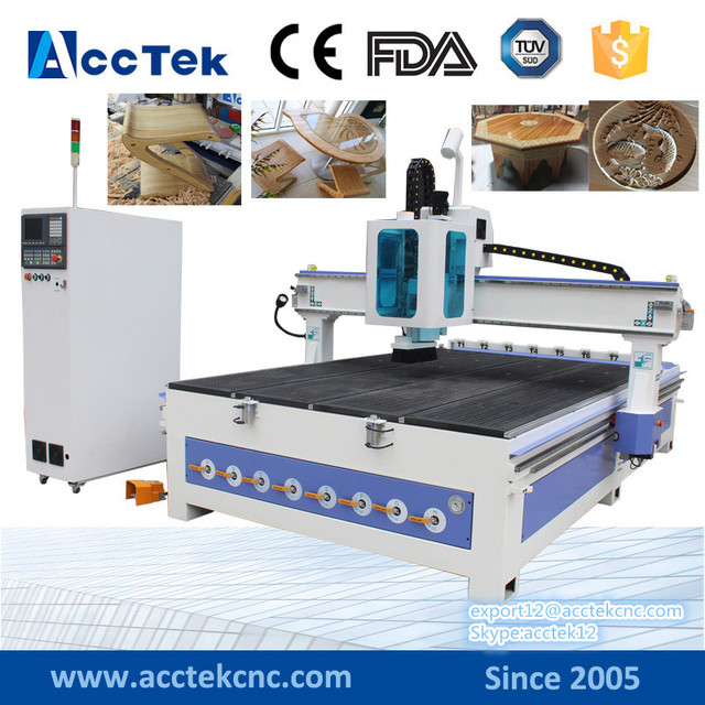 Weihong NK260 linear atc wood cnc routers CNC machine with tool Magazine 3d cnc engraving