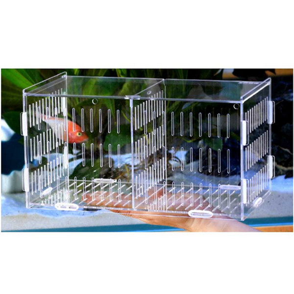 Acrylic The fish tank Isolation box Isolation tank Breeding boxes Breeding boxisolation incubation Grow seedlings Reproduction ...