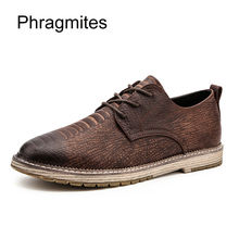 hot deal buy phragmites england korean fashion formal shoes men all-match casual shoes genuine leather adult black shoes mens shoes casual