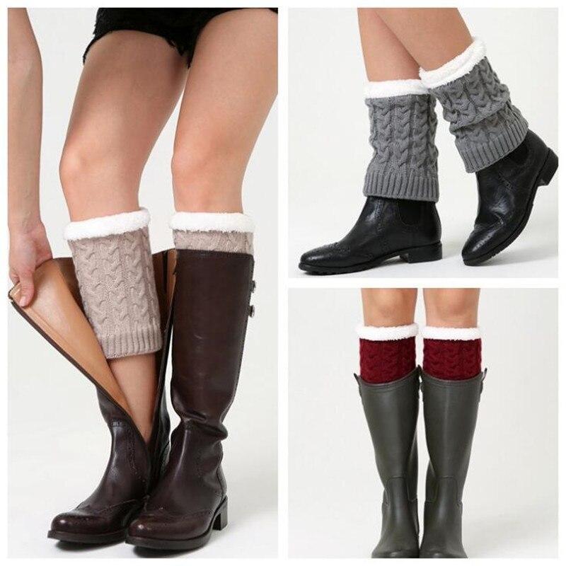 Caliente Calentadores para piernas 6 colores invierno Calcetines ...