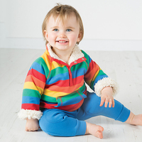 الأولاد معاطف ستر أسفل ماركة الشتاء جاكيتات للأطفال قميص ملون مخطط الصوف السميك الدافئ ، طفل الفتيان سترة