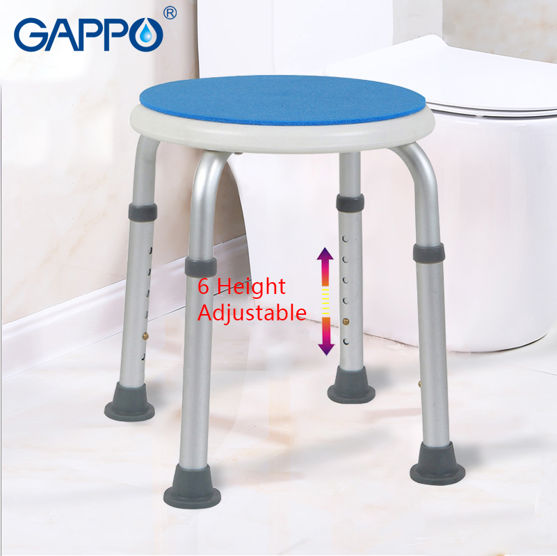 Gappo Wall Mounted Shower Seats Bath Stool Folding Toilet Chair Shower Seats Bathroom Shower Folding Seat Tub Bench Chair Complete In Specifications Bathroom Fixtures