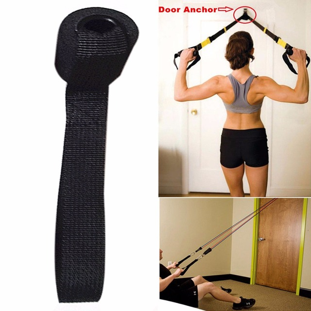 1Pcs Fitness Door Anchor Resistance Band Accessory For Training Exercise Equipment Muscle Building Strength Bands