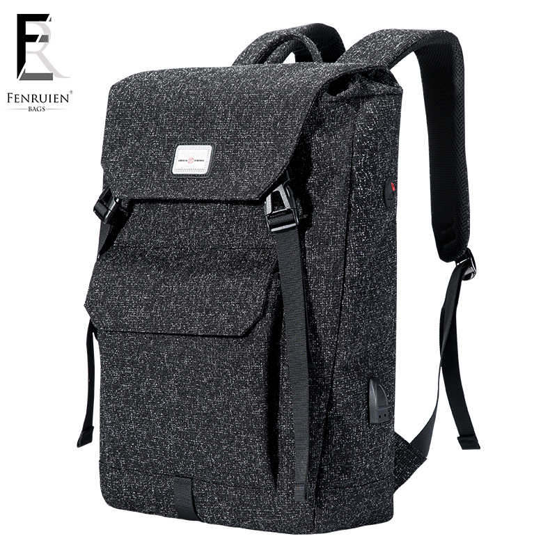 eaf1a2f19ecd FRN Multifunction USB charging Men 15 inch Laptop Backpacks For Teenager  Fashion Male Mochila Leisure Travel
