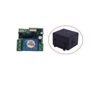Image 2 - Universal DC 24 v 1 canal mini sem fio RF switch controle remoto transmissor receptor 315/433 mhz
