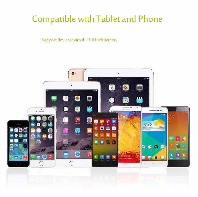 "HTB1oV5xMpXXXXafXVXXq6xXFXXXj - Tablet telefoon houder 360 graden flexibele met monteer klem 4 tot 11.6"""