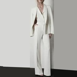 Modieuze Vrouwen Suits Vrouwen Werkkleding Hand Tailored Vrouwen Dames Custom Made Business Kantoor Smokings Werkkleding Pakken