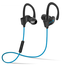 Smart Bluetooth headsets Ear-hook stereo noise reduction sport music game headphones voice prompt waterproof HIFI Tone quality