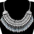 Multi-camadas declaração choker colares & pingentes ciganas boho étnico vintage maxi collares collier para as mulheres jóia turca