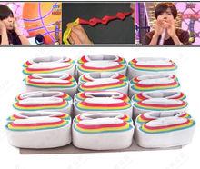 Бесплатная доставка фокусы Рот Катушки-Цвет-Бумага 12 штук магия опоры волшебные игрушки