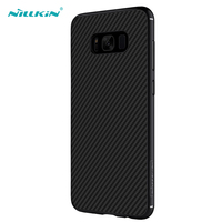 Nillkin Black Carbon Fiber Case for Samsung Galaxy S8 Plus Hard Case Slim Back Cover for Samsung S8 Plus Phone Bag Cases Shell