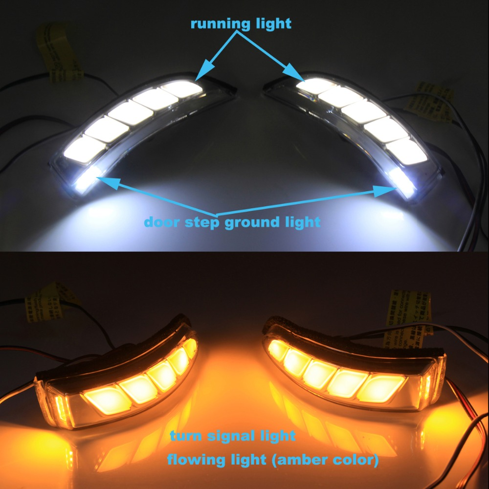 toyota Rearview Mirror LED light 2