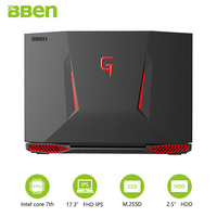 Bben Laptop With Intel I7 7700HQ Kabylake Cpu 16GB RAM 1TB HDD ROM Wireless Wifi Russian