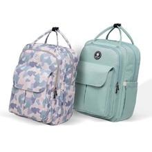 цены на Fashion Heine Diaper Light Waterproof Mummy Solid Multiple Backpack Bag Large Capacity Travel Nursing Bag Portable Nappy Bag в интернет-магазинах
