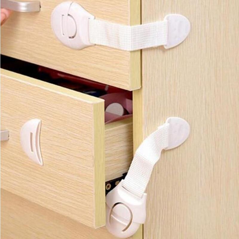 5 шт./10 шт. ремни детские замки безопасности и длинные ящики дверных шкафов с замками безопасности пластиковый замок для защиты детей