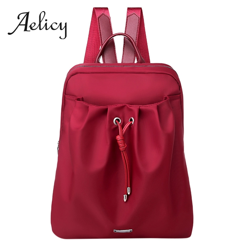 Aelicy Fashion Satchel Women Anti-theft Backpack Multi-Use Nylon Backpacks Bag Lady Waterproof School Shoulder Bag LeisureAelicy Fashion Satchel Women Anti-theft Backpack Multi-Use Nylon Backpacks Bag Lady Waterproof School Shoulder Bag Leisure