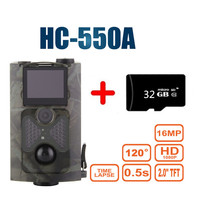 Hunting Camera Upgraded Version HC 550A 5MP Color CMOS 16MP 1080P PIR Sensor Multi Zone Trap