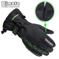 Winter Motorcycle Gloves Racing Waterproof Windproof Winter Warm Leather Cycling Bicycle Cold Guantes Luvas Motor Glove