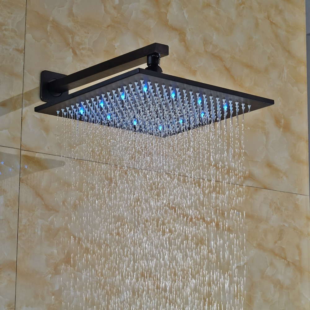 Bathroom 8-in Oil Rubbed Broze Shower Head Bath Shower Fittings+Shower Arms Square Shower Sprayer female head teachers administrative challenges in schools in kenya