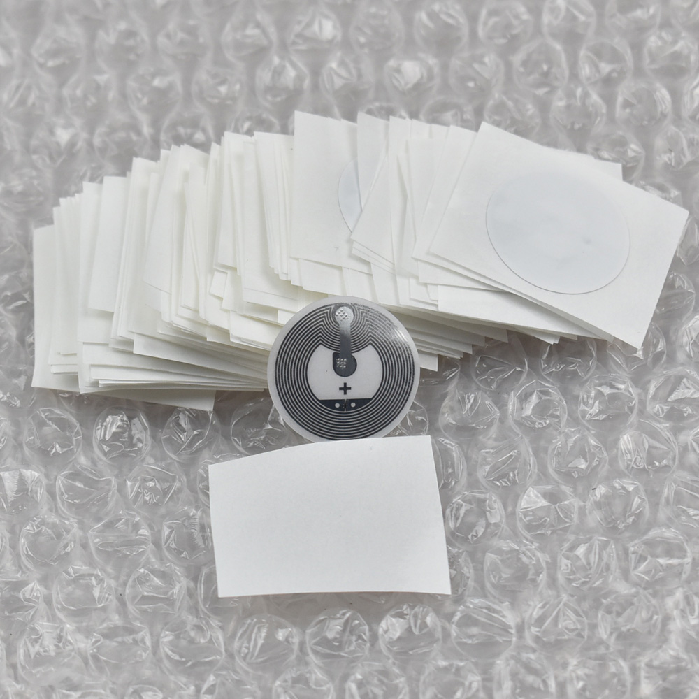 300pcs Larger Capacity NFC Tags RFID Label, Classic 1k F1108 NFC Sticker 1000pcs larger capacity nfc tags rfid label classic 1k f08 nfc sticker for galaxy s3 nokia and most andriod nfc phone 768 bytes