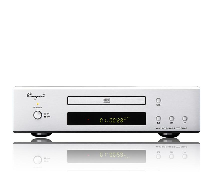 QUEENWAY Cayin-MT-CD45 CD Player RCA, Optical, Coaxial output CS4398 Chip VFD dynamic display Special EI transformer dynamic presentations 2 cd