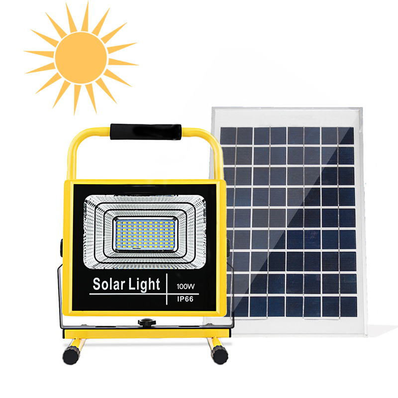 New Scenery solar lamp for outdoor 25W 40W 60W 100W construction lamp led solar lights in the tent Solar Lamps     - title=