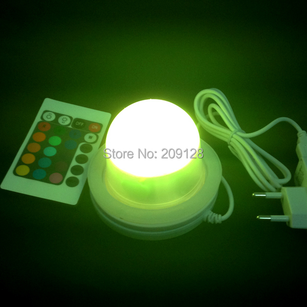 Best quality waterproof ip68 rgb multi color remote control induction charge led table light tubes