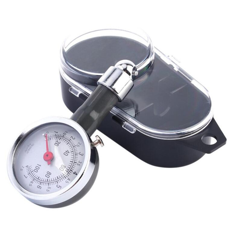 High Precision Car Manometer 0-100 PSI Auto Wheel Tire Air Pressure Gauge Meter Car Tyre Tester Tyre Air Monitor System