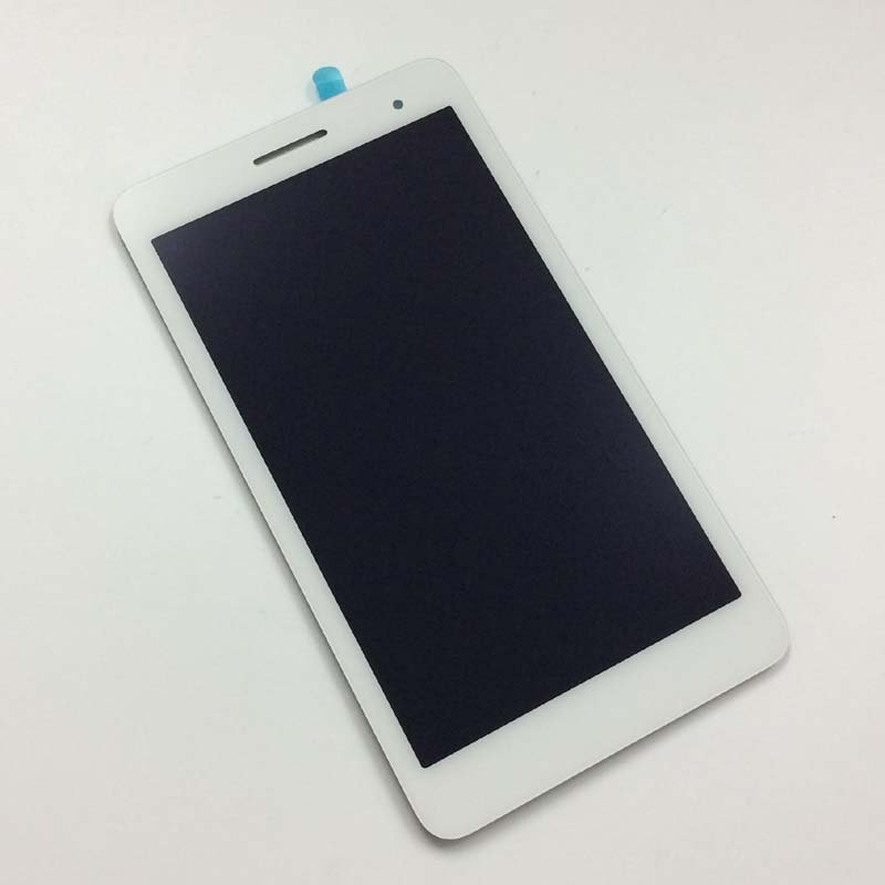 White Full Touch Screen Digitizer + LCD Display Monitor Panel Assembly for Huawei Honor Play MediaPad T1 7.0 T1-701u / T1-701ua screen for huawei mediapad t1 7 0 3g 702 702u 702u t1 702 t1 702u t1 702u lcd display and with touch screen digitizer assembly