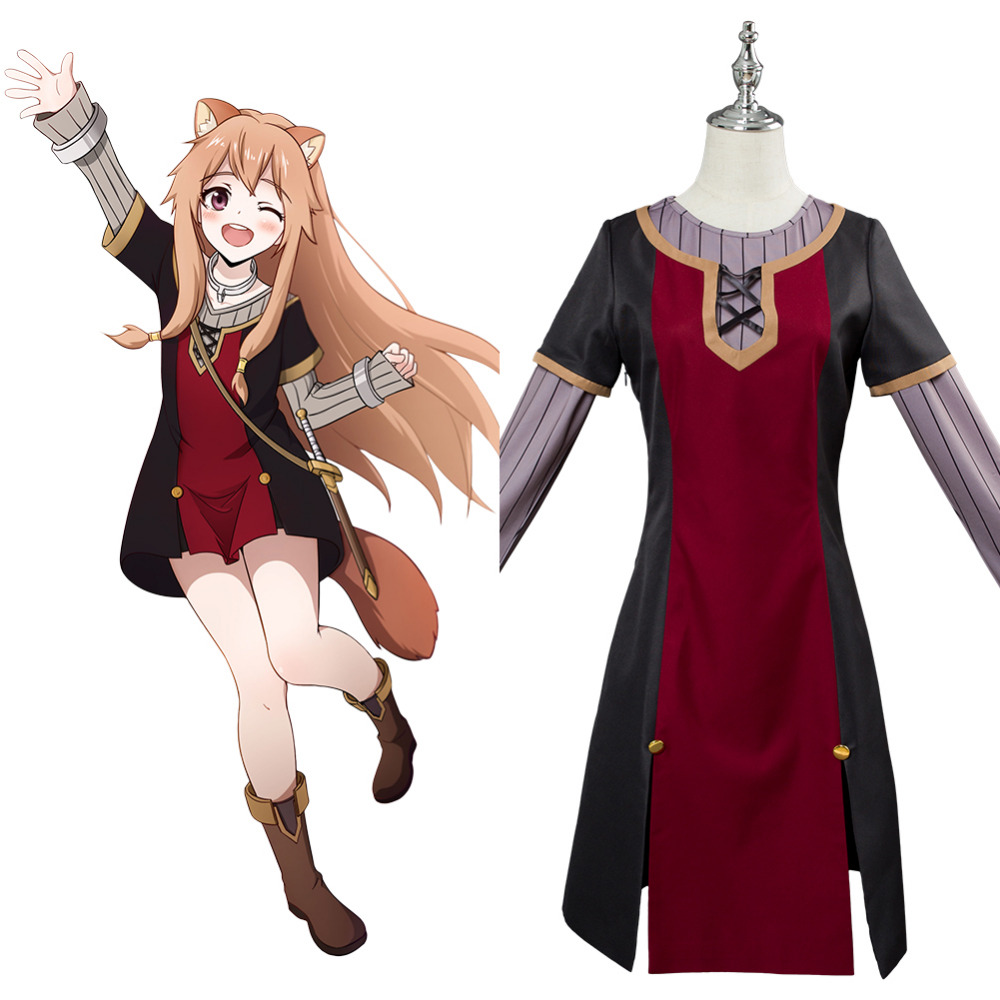 Tate no Yuusha no Nariagari The Rising of the Shield Hero Raphtalia Cosplay Costume dress Outfit Women Custom Cosplay Costume