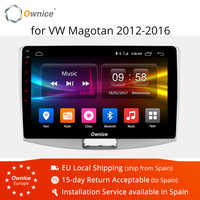 Ownice K1 K2 10.1 Octa Core Android 8.1 voiture DVD Radio Navi GPS pour Volkswagen Magotan 2012 2013 2014 2015 2016 Support 4G