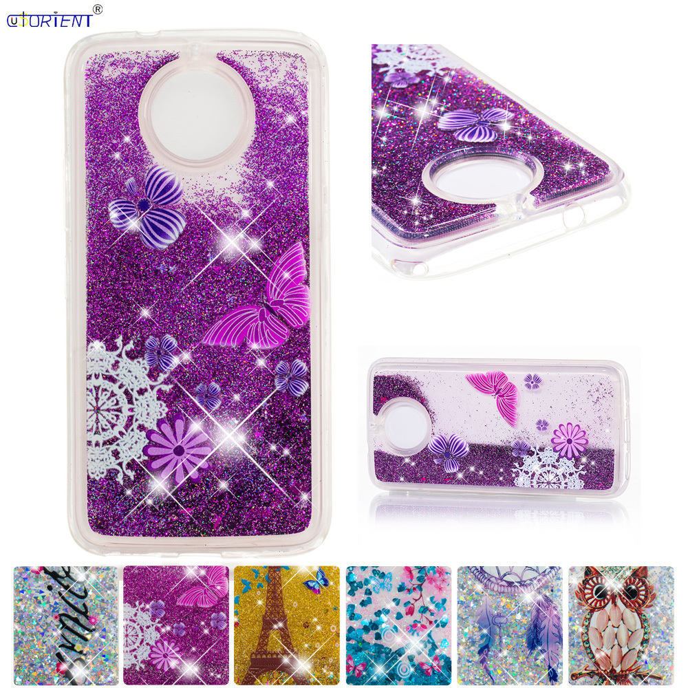 Half-wrapped Case Temperate For Motorola Moto G5s Plus G5 S Bling Glitter Dynamic Liquid Quicksand Phone Case Xt1803 Xt1793 Xt1794 Fitted Cover Back Funda A Plastic Case Is Compartmentalized For Safe Storage