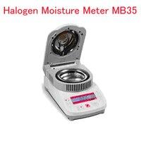 Moisture Analyzer Halogen Moisture Meter Moisture Test Apparatus MB35 0.05 100 percent Moisture Range