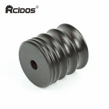 Sandalwood grinder 5 mills(4/6/10/13/15mm) Ebony Wood leather tip side border burnisher, leather side polish wood wheel