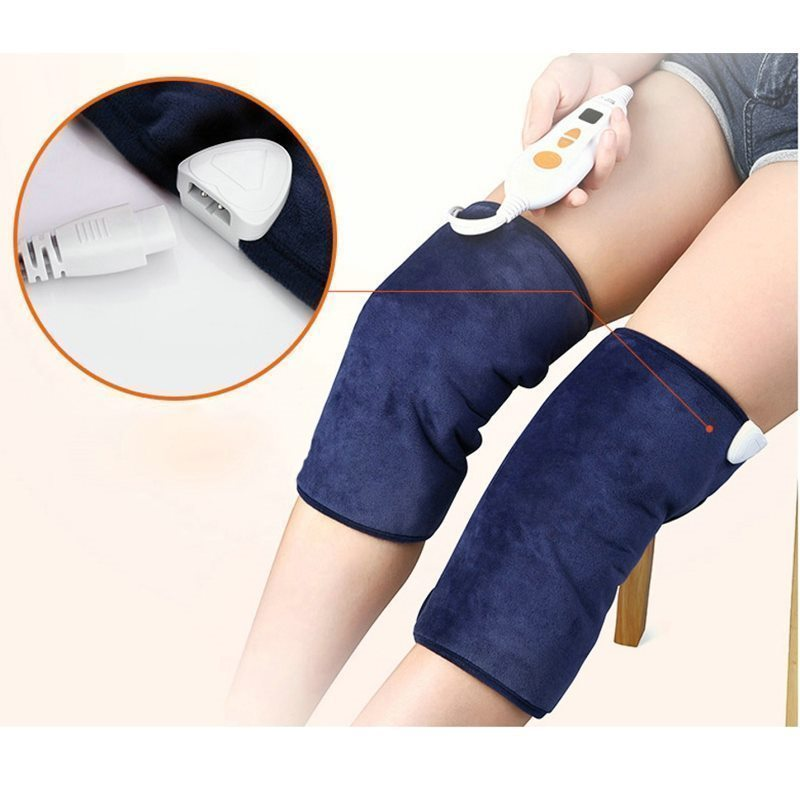 Electric Moxa Knee Pads Autumn And Winter To Keep Warm Old Cold Legs Men Women Moxibustion Joint Inflammation Middle Aged 500 3 1 mugwort ay tsao asiatic traditonal chinese medicinal materials moxa wool floss warm channel and expelling cold