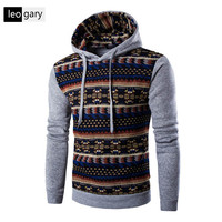 National Style 2016 New Hoodies Men S Hombre Hip Hop Male Brand Hoodie Casual Patchwork Sweatshirt