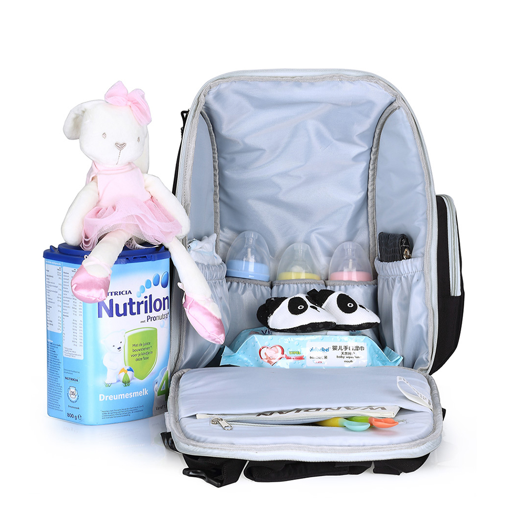 Luiertas Rugzak Baby Bag Mummy Moederschap Luiertas voor Wandelwagen - Luiers en zindelijkheidstraining - Foto 3