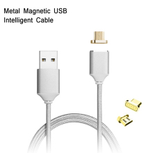 Magnetic Nylon Braided Quick Charge Cable For Sony Xperia Z6 mini Z1 E4 C4 T2 Fast Charging Android USB Date