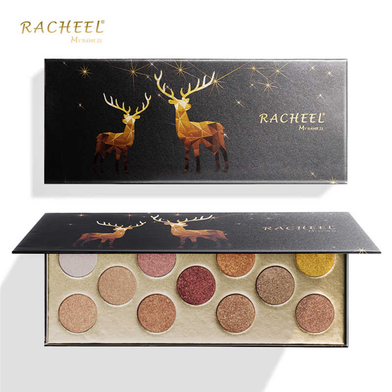 11 Warna Tahan Air Eye Shadow Palet Shimmer Glitter Eye Shadow Palet Luminous Powder Matt Eyeshadow Kosmetik Makeup Baru